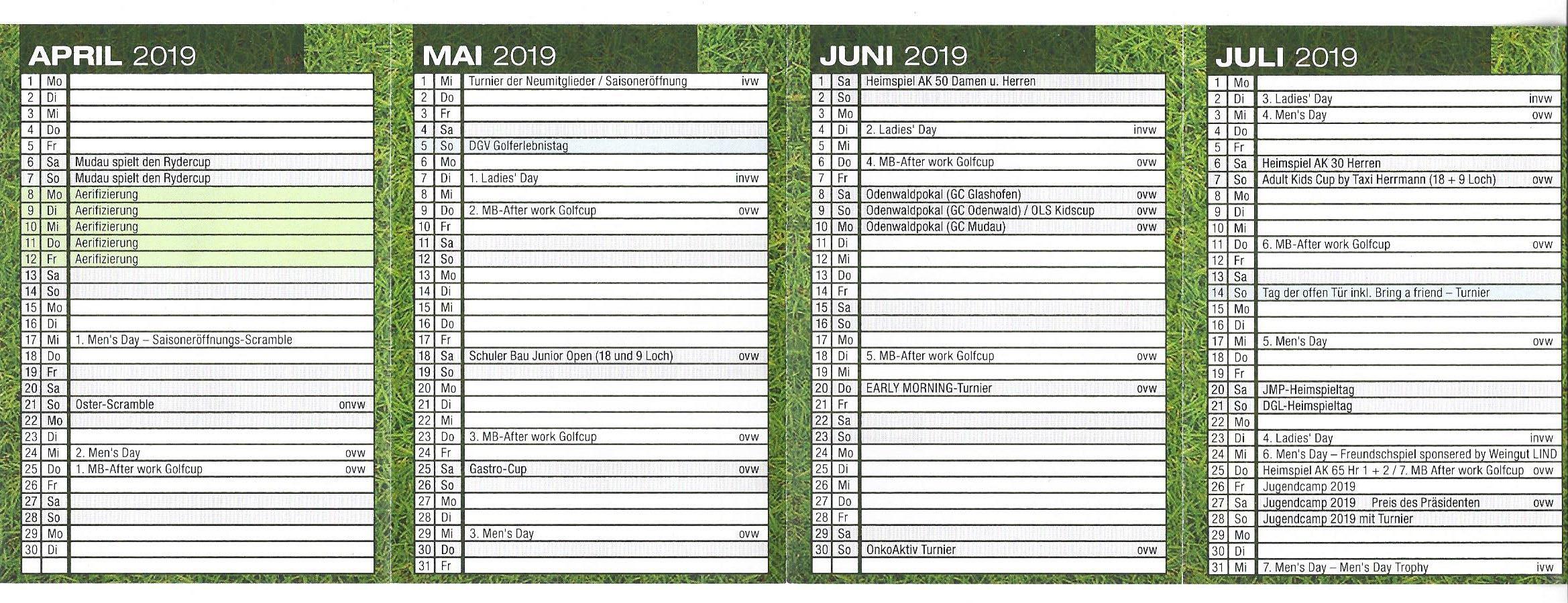 April - Juni